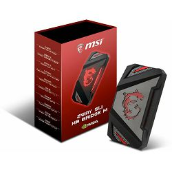 MSI SLI  HB Bridge M, 2way, 60mm, 914-4395-005