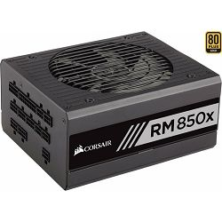 Napajanje Corsair 850W RM850X Black 2018, 80 PLUS Gold CP-9020180-EU