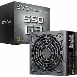 Napajanje EVGA 550W SuperNOVA G3, 220-G3-0550-Y2