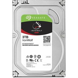 NAS HDD 3TB Seagate Ironwolf, 3.5