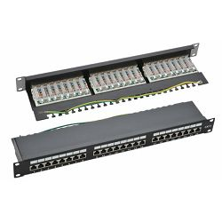 NaviaTec CAT6-SPP275, 24 Port Patch Panel
