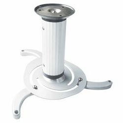 Nosač za projektor Transmedia H 16-2 W • Beamer Ceiling Mount • with ball-and-socket joint hole pit