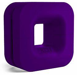 NZXT puck purple, nosač za slušalice i kabel, BA-PUCKR-PP