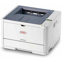 Oki B431dn, Led laser printer mono, 1200x1200 dpi, 28 str/min, duplex, mrežni, Ladica 250 listova,
