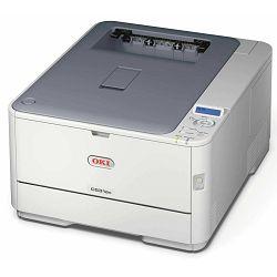 Oki C531dn,A4 Mrežni printer u boji s dupleksom ,ProQ2400, 1200x600 dpi, Brzina ispisa : c/b 30 str