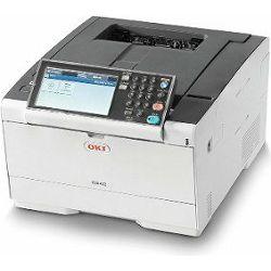 Oki C542dn, A4 printer u boji + toneri ( crni 7k,  boje 1.5k )