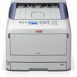 Oki C841n, A3 printer u boji, ProQ2400 Multi-level tehnologija, 1200x1200dpi, LED laserski ispis, B
