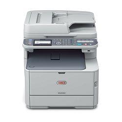 Oki MC562dnw, Printanje, skeniranje, kopiranje, faksiranje, Brzina ispisa: 26 str/min (boja), 30 st