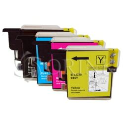 Tinta Brother tinta LC-985/1100XL Yellow Orink