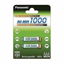 Panasonic bat AAA 1000mAh 2kom, BK4HGAE2BE