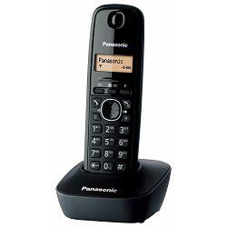 Panasonic KX-TG1611FXH, Tip Bežični, Boja : crna, Karakteristike Caller ID,HR izbornik,LCD ekran,Og