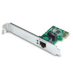 Planet ENW-9702, 10/100/1000Base-T PCI Express Gigabit RJ45 Ethernet Adapter, 802.1Q VLAN support,