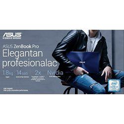 Prijenosno računalo Asus ZenBook Pro UX550VE-BN072R, 15.6
