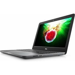 Prijenosno računalo DELL 5567, 15.6'' HD, i5-7200U, 4GB, 1TB HDD, intel HD, Linux, Black