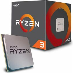 Procesor AMD Ryzen 3 1200 BOX, 3.10GHz, 8MB Cache, s.AM4, YD1200BBAEBOX