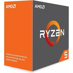 CPU AMD Ryzen 5 1600X BOX, s. AM4