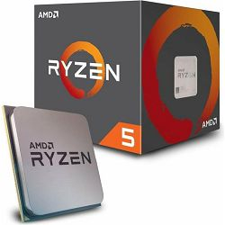 CPU AMD Ryzen 5 2600 BOX, s. AM4, YD2600BBAFBOX