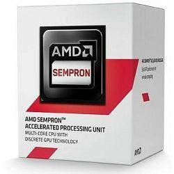 Procesor AMD Sempron X4 3850 (2MB Cache, 1.30 GHz), sAM1, SD3850JAHMBOX
