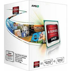 Procesor AMD X2 A4-5300 (1MB Cache, up to 3.60 GHz), sFM2, AD5300OKHJBOX