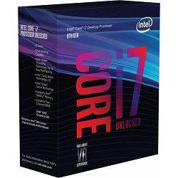 Procesor Intel Core i7-8700K (12MB Cache, 3.70 GHz), s.1151, boxed without cooler, BX80684I78700K