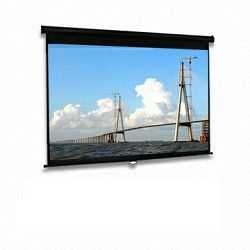 Projecto platno 234x132 cm (16:9) ručno, MSS8, Ručno projektorsko platno, format slike 16:9, Najveć