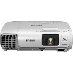 Projektor EPSON EB-X27, 3LCD XGA ( 1024x768 ). Svjetlina 2700ANSI lm, omjer kontrasta 10.000:1