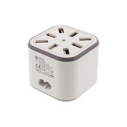 Punjač USB 220V/8.4V/max.2.4A DELTACO 8xUSB
