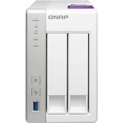 QNAP Turbo station TS-231P, 2x Gb LAN, NAS