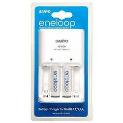 Sanyo punjač baterija  + 2 komada Ni-Mh baterije ENELOOP, MQN04-E-2-3UTG