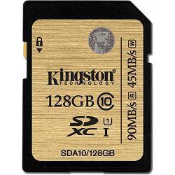 Secure Digital 128GB Kingston Ultimate SDXC, UHS-I/Class 10, SDA10/128GB