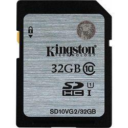 Secure digital 32GB Kingston, class 10, SD10VG2/32GB