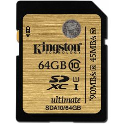 SD 64GB Kingston Ultimate U1 SDXC