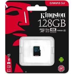 SD micro 128GB KGS 10 Canvas GO, R90/W45, SDCG2/128GBSP