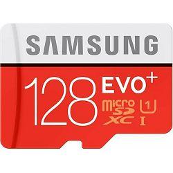 micro Secure Digital 128GB Samsung microSDXC EVO Plus kit, UHS-I/Class 10, MB-MC128DA/EU
