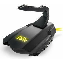 Sharkoon MB10 Gaming Bungee Hub, 4-port, USB2.0, Postolje sa samoljepivom, protu-kliznom plohom, Žu
