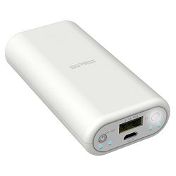 Silicon Powerbank 4000mAh White, P40
