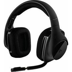 Logitech headset G533, bežične slušalice s mikrofonom, 7.1, 981-000634