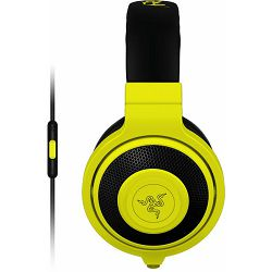 Razer Kraken Mobile yellow, Headphones (On-Ear), RZ04-01400200-R3M1