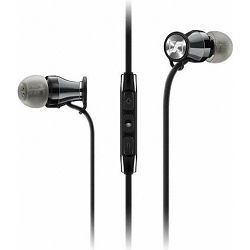Slušalice Sennheiser Momentum In-Ear i for iPhone, Black Chrome, 506814