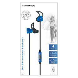 Slušalice Vivanco Sport IPX4/SPX60 plave