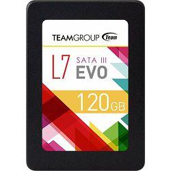 SSD 120GB TeamGroup L7 EVO 120GB, SATA (T253L7120GTC101)