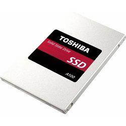 SSD 120GB A100 Toshiba, SATA3, Read: 550MB/s, Write: 480MB/s, S101Z1200E8