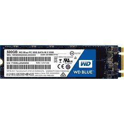 WD SSD 500GB M.2 Blue, WDS500G2B0B