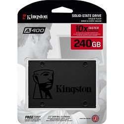 SSD 240GB Kingston A400, SATA3, SA400S37/240G