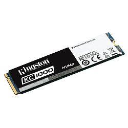 Kingston SSD 240GB KC1000 M.2 2280, SKC1000/240G