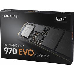 Samsung SSD 250GB 970 EVO M.2, MZ-V7E250BW