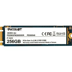 Patriot SSD 256GB Scorch M.2, PCIe 3.0 x2, PS256GPM280SSDR