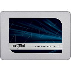 SSD 2TB Crucial MX500, SATA3, Read: 560MB/s, Write: 510MB/s, CT2000MX500SSD1