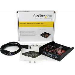 StarTech int 4-port HUB, USB 3.0, 3.5
