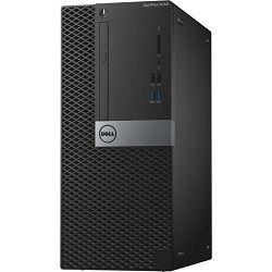 Stolno računalo Dell Optiplex 3040 MT, i5-6500 3.2GHz, 4GB DDR3, 500GB HDD, Intel HD, Linux, 272783506